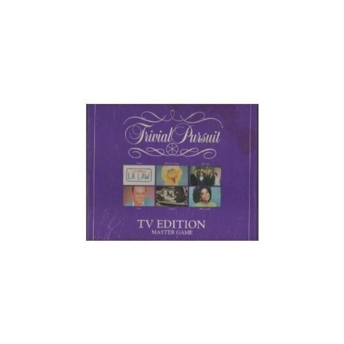 Trivial Pursuit TV Edition Master Game by Parker Brothers (English Manual)