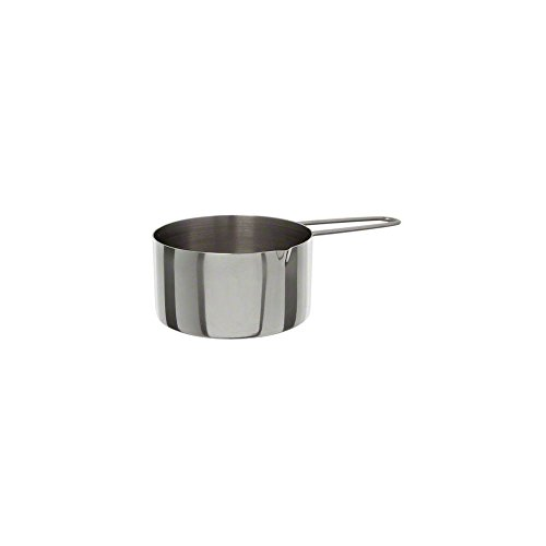 American Metalcraft MCW10 S/S 1 Cup Measuring Cup w/Wire Handle (Measuring Stainless Steel American Metalcraft Cups)