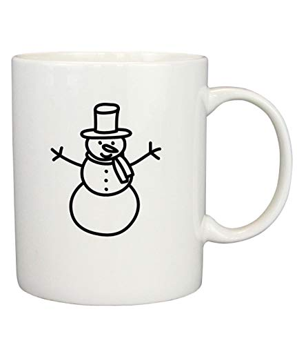 snowman Fun Novelty Coffee Cup
