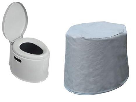 Kampa khazi wc chimico portatile e telo in abbinamento amazon