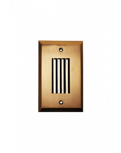 Westgate Lighting LED Step Light Face Plate-Integrated LED Weatherproof Mounting-Landscape Lighting Face Plate with Frosted Sealed Glass-5 Year Unlimited Warranty (1, Antique - Faceplate Down