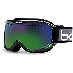 Bollé Carve–Gafas de esquí, Black Green Fade