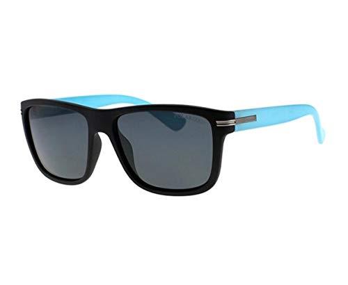 de de gafas de sol polarizadas Hombres Gafas FlowerKui cuadrado conducción Mujeres Deporte sol Black Ciclismo UV400 Esquí Marco Moda Gafas Pesca Protección qqY74Xw