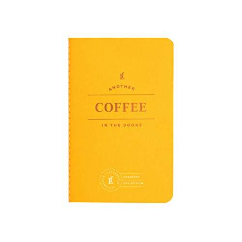 Coffee Passport Journal - Pocket-Sized Coffee Tasting Book by Letterfolk
