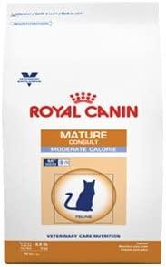 Royal Canin Veterinary Diet Mature Consult Moderate Calorie Dry Cat Food 19.8lb