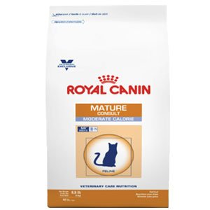 Royal Canin Veterinary Diet Mature Consult Moderate Calorie Dry Cat Food 19.8lb by Royal Canin