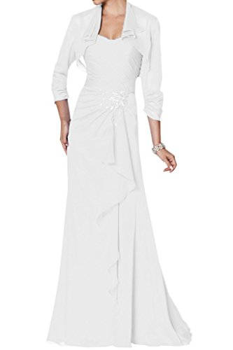 Bianco Donna a ad Ivydressing Vestito linea wqxzpngFX6