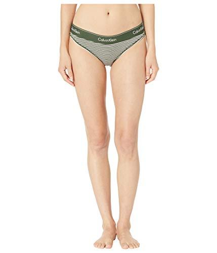 f95adc770e1f Calvin Klein Women's Modern Cotton Bikini Panty, Marching Stripe, ...