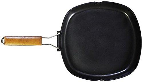 WECOOK Ecostone Grill Liso, Aluminio, Negro, 30 cm 11000