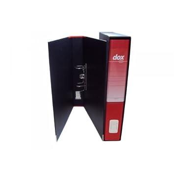Rexel D26506 Dox 5 Registratore a Leva Formato A4+, Giallo ACCO Brands Archiviatori Raccoglitori Registratori