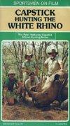 Capstick Hunting The White Rhino