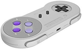 Cargador inalámbrico rápido, Retro SNES Classic Controller Estilo Cargador inalámbrico para iPhone X, iPhone 8/8 Plus, Samsung Galaxy S8 / S7 / Note 8 y todos los dispositivos compatibles / Qi-Enabled de