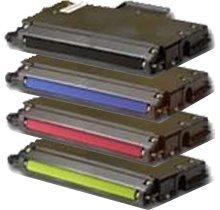 Lovetoner Compatible replacement for XEROX/TEKTRONIX 740 Laser Toner Cartridge Set Black Cyan Yellow Magenta ()