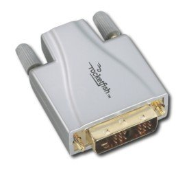 RocketfishTM DVI-to-HDMI Adapter - Silver/Gold