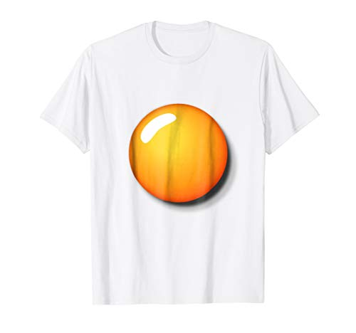 Fried Egg Shirt Funny DIY Halloween Costume Ideas Egg Yolk]()