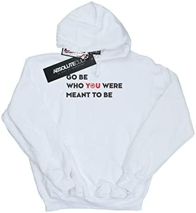 Marvel Damen Avengers Endgame Be Who You were Meant to Be Kapuzenpullover Weiß Large