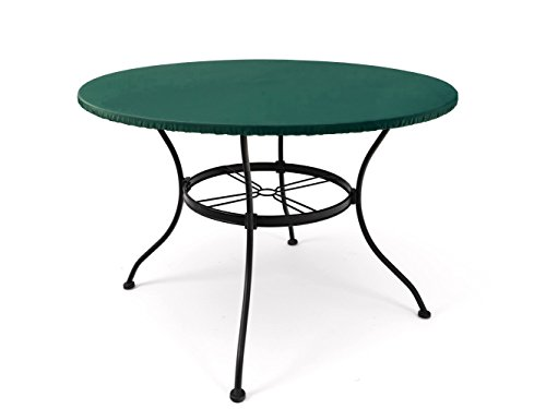 Covermates - Round Table Top Cover - 54-60 Diameter - Classic Collection - 2 YR Warranty - Year Around Protection - Green (Commercial Patio Covers)