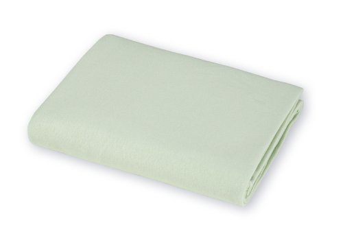 American Baby Company 100% Natural Cotton Value Jersey Knit Fitted Bassinet Sheet, Celery, Soft Breathable, for Boys and Girls