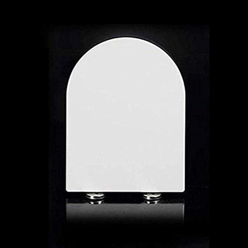 Andou Nk 便座ユニバーサルトイレの蓋抗菌尿素 - ホルムアルデヒド樹脂肥厚超耐性トイレカバーにU字型のV字型スクエア
