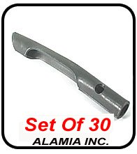 Set of 30 Aerator Parts, Ryan Tines A522361 Fits all Walk Behind Ryan, Bluebird, Husqvarna, Billy Goat, Classen Aerators