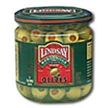 Stuffed Manzanilla Olives, 240/260, 1 Gallon -- 4 Case by Bell Carter Foods
