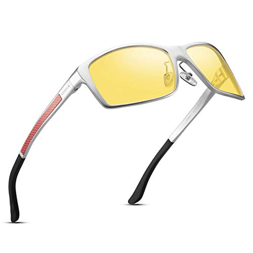 Amazon.com: Soxick Gafas de conducción nocturna, HD Visión ...