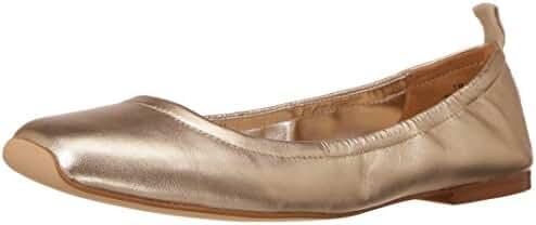 Nine West Women's Zdeno Metallic Ballet Flat