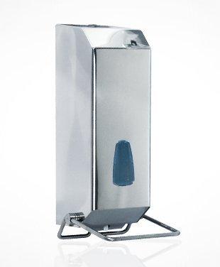 Dispensador jabón a codo Hospital de acero inoxidable