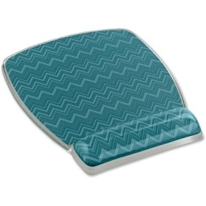 3M Fun Design Mouse Pad - Chevron Green - 6.8