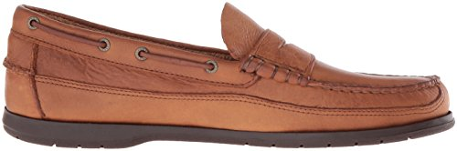 Sebago Sloop - Scarpa, Taglia Tan Tumbled Leather