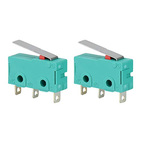 5pcs/lot AC 250V 5A Hinge Lever Micro Limit Switch KW4-3Z-3 For Mill CNC