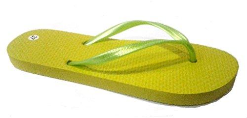 dema , Tongs pour femme jaune jaune 37