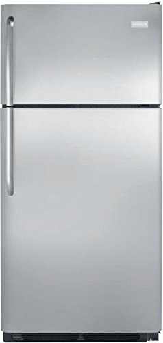 Frigidaire FFTR1830QS 30 Inch Freestanding Top Freezer Refrigerator with 18 cu. ft. Total Capacity, in Stainless Steel