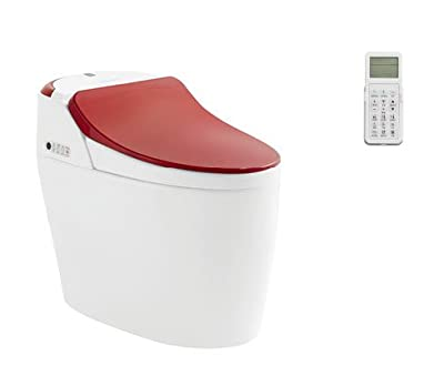 SYSINN Remote Control Washer Heating,Cushion Heating Smart 1-Piece Toilet Set