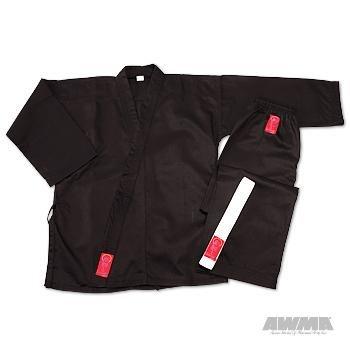 ProForce Gladiator 7.5 oz. Elastic Drawstring Medium Weight Uniform Black 3