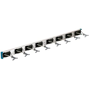 Crawford-Lehigh 36360-6 Ultra Hold Eight-Hook Tool Rack, 36 by 5-Inch
