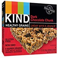 KIND Healthy Grains Granola Bars, Double Chocolate Chunk, 1.2 Oz (30 Bars)