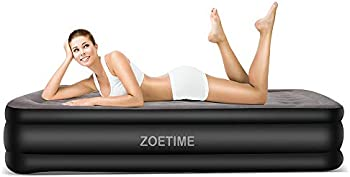 Zoetime Upgraded King Size Double Air Mattress Inflatable Beds