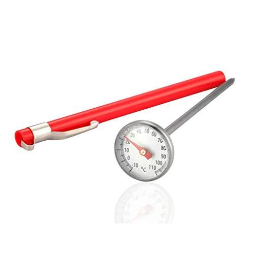 W&Z Termómetro Cocina Impermeable con Tapa de Cocina Termómetro instantáneo Leer para líquidos, Alimentos, Leche, té,...