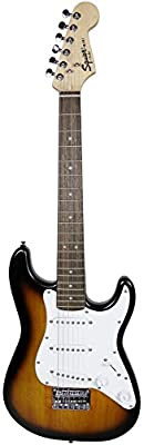 Squier by Fender Mini Strat Electric Guitar - Brown Sunburst
