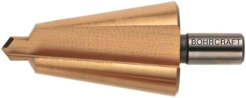 Bohrcraft Quadro Pack Sheet Metal Cone Drill Bit High-Speed Steel Titanium Nitride Size 1//3/ 1/piece 17410300001 /14/mm
