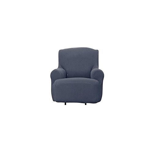 Bee & M Home Fashions Stretch Polyester & Spandex Blend Slipcover - Armchair - Grey