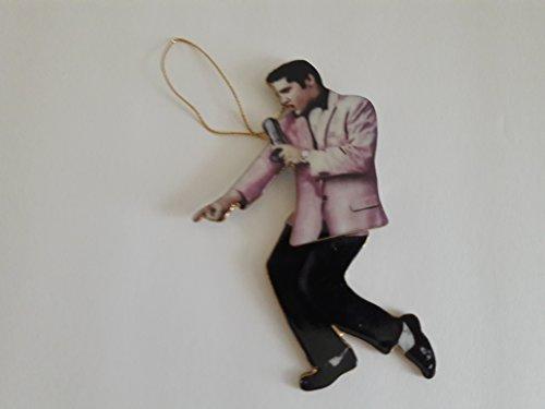 (Bradford Elvis Presley Rockin Rollin Edition Ornaments Heartbreak Motel)