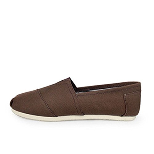 On Women's Unisex Canvas Men's Sneaker Flat Shoe sexphd Brown Slip Pa1qnn