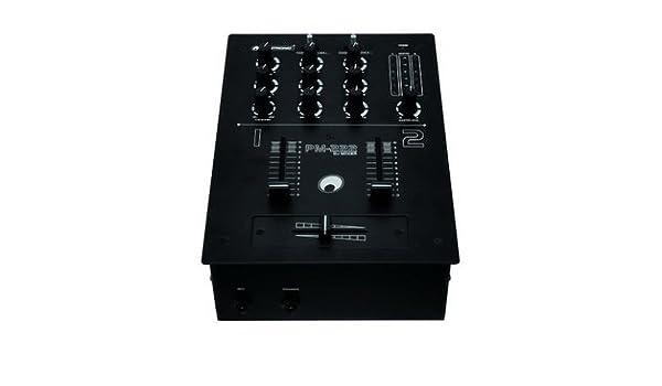 Omnitronic PM-222 2-canal-DJ-mesa de mezclas: Amazon.es: Electrónica