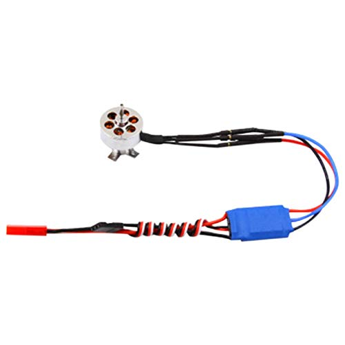 Feccile Upgrade Accessories Fixed Wing Four-axis 1700KV Brushless Motor +10A ESC 2211-1700KV Brushless Motor+10A 2-3S ESC for RC Fixed Wing - Motor 10a Brushless