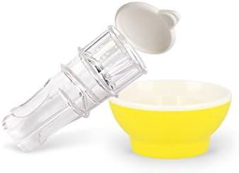 Patent-Safti,Entsafter,Safti,Zitronenpresse,Zitronen Ausgießer BPA frei Orange