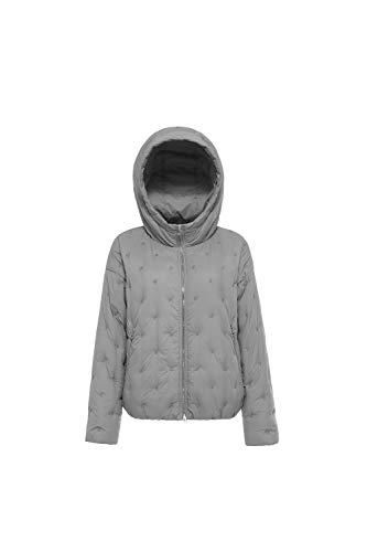Puffer Jacket Grigio Short Bosideng Women's Down xwE7gY