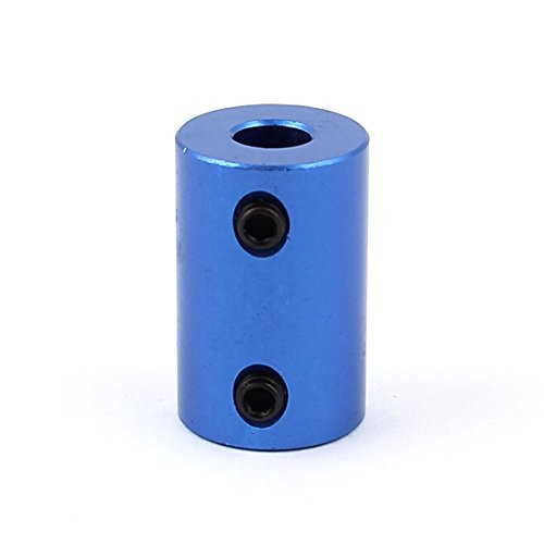 uxcell 6.35mm to 10mm Aluminium Alloy Motor Shaft Coupling Joint Connector