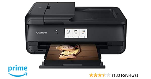 Canon PIXMA TS9520 Wireless Photo All In one Printer | Scanner | Copier | Mobile Printing with AirPrint and Google Cloud Print, Black, Amazon Dash ...